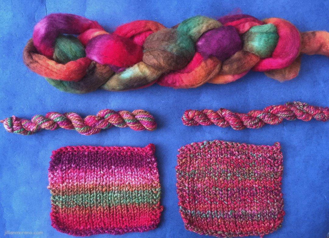 photo of jillian moreno's fiber & knitting