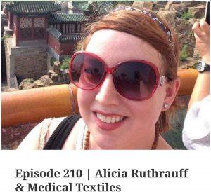 YarnStories Podcast Episode 210, Alicia Ruthrauff