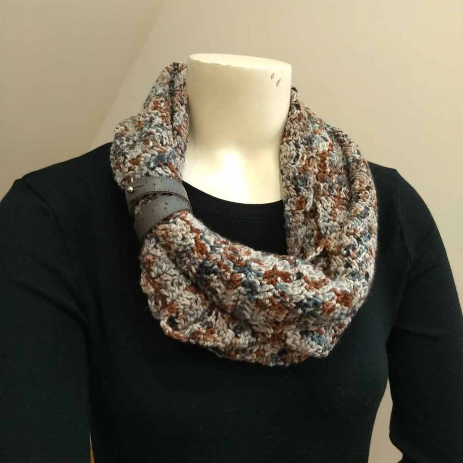 Transitions cowl, color 1040 shown doubled and cuffed