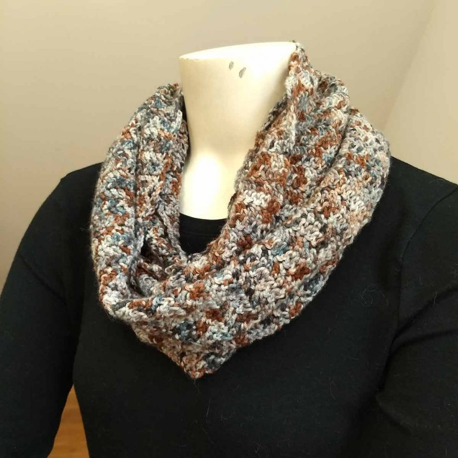 Transitions cowl, color 1040 shown doubled