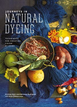 Book cover: Journeys in Natural Dyeing