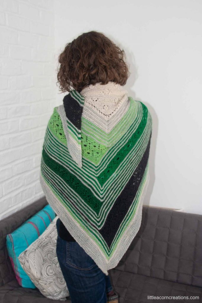 High Sierra Shawl sample.
