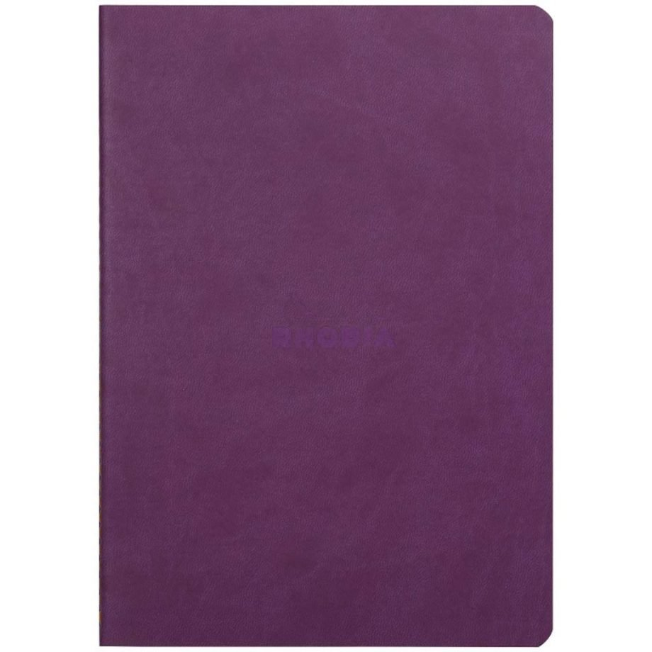 Rhodia Rhodiarama Sewn Spine Notebook, Purple Cover